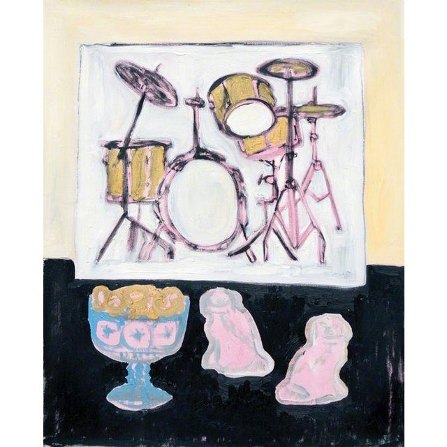 Image of Anne-Louise Ewen Still Life With Picture Of Drumkit