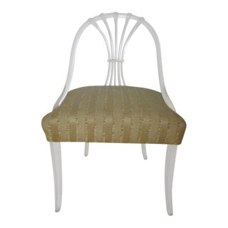 Lucite Chair in the Manner of Lorin Jackson for Grosfeld House