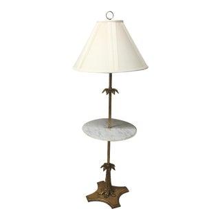 Vintage Italian Gold Leaf Lamp Table