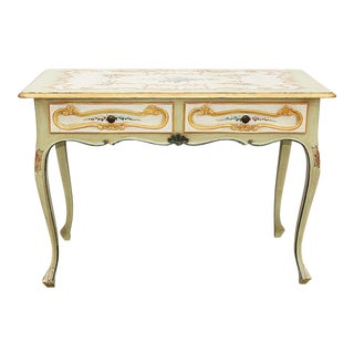 Ventian-Painted Writing Desk
