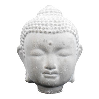 Buddha Head Cement Statue