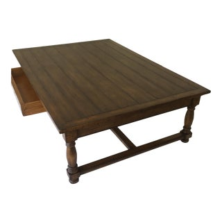 Guy Chaddock and Co. One Drawer Coffee Table