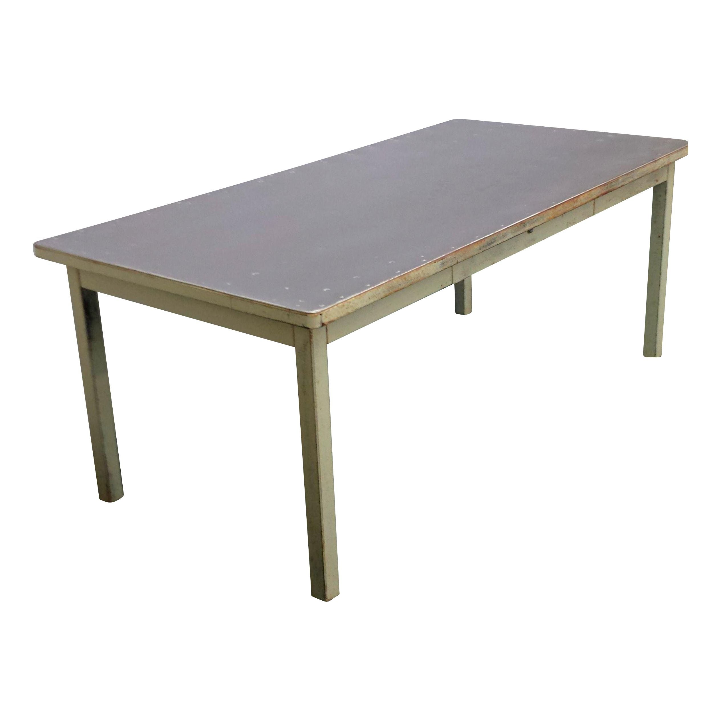 Mid Century Industrial Dining Table Desk Chairish : 6a2bc58d c177 40c6 bb29 ce8af006517faspectfitampwidth640ampheight640 from www.chairish.com size 640 x 640 jpeg 17kB