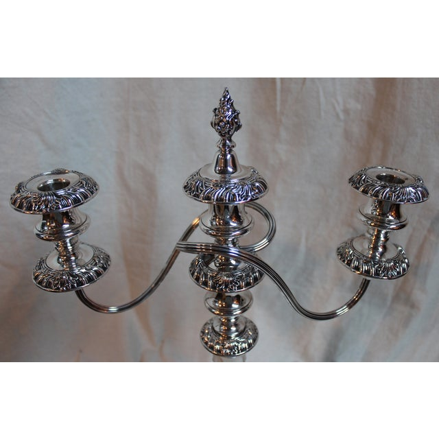 Three-Light Candelabras - A Pair - Image 3 of 7