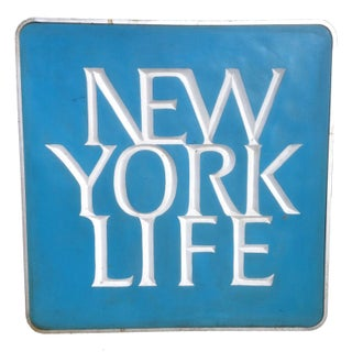 "New York Life Sign - Large 36"" x 36"""