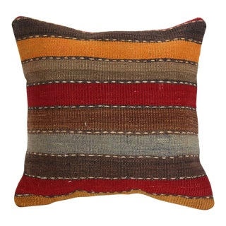 "Turkish Vintage Decorative Handmade Pillow Cover - 16"" x 16"""