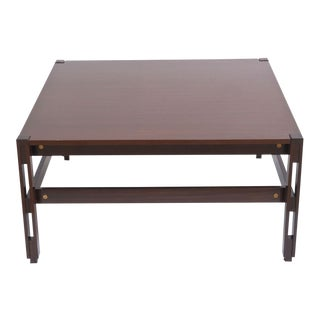 Italian Modern Palisander Low Table, Ico Parisi for MIM
