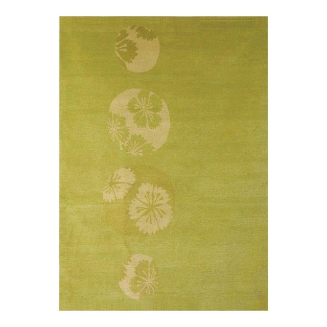 """""""Glimpse Flower"""" Rug by Emma Gardner - Image 1 of 3"""