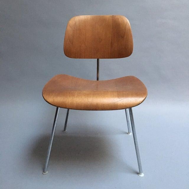 "Vintage Herman Miller Walnut ""DCM"" Chair - Image 3 of 6"