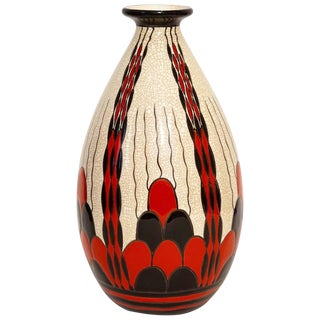 Charles Catteau Art Deco Vase D.1831