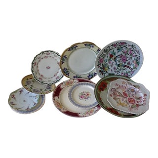 Vintage Fine China Assorted Dishes - Set of 10