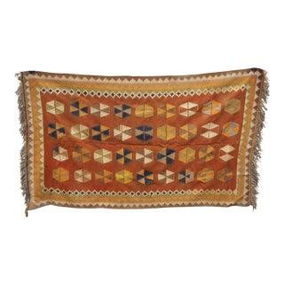 Traditional Handmade Kilim Rug- 4′5″ × 7′10″