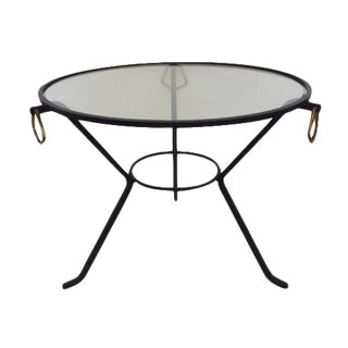 Jacque Adnet Coffee Table