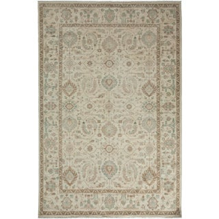 "Oushak Hand Knotted Area Rug - 6'0"" X 9'1"""
