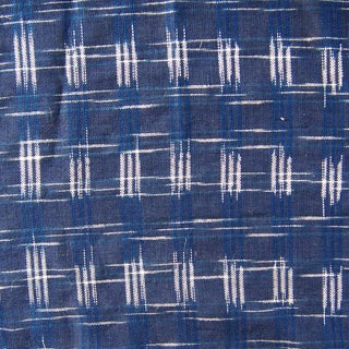 Thai Blue & White Fabric - 1 Yard