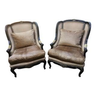 Marge Carson Marguerite Chair - A Pair