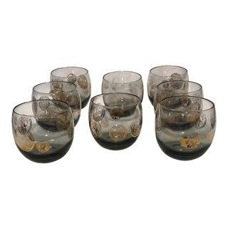 Mid-Century Roman Greco Glasses - Set of 8