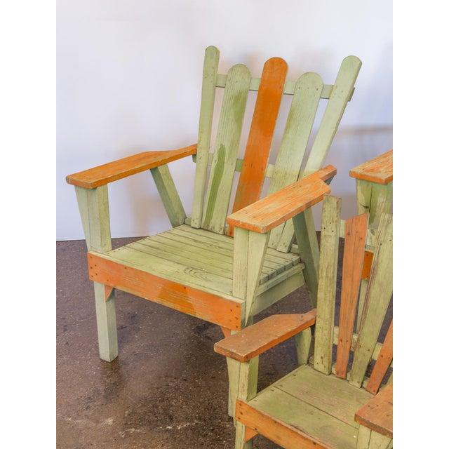 Family Set of Adirondack Chairs - Image 7 of 11