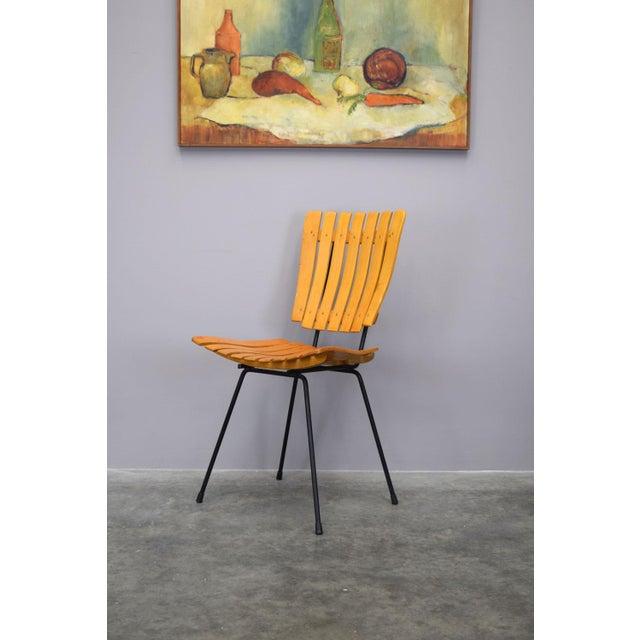 Arthur Umanoff Raymor Mid-Century Slat Chairs, Set/4 - Image 3 of 9