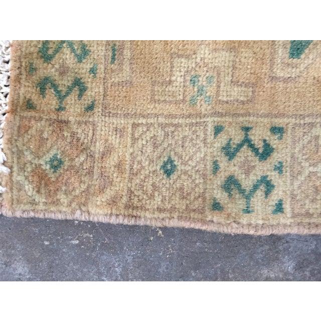 "Turkaman Handmade Persian Rug 1'6"" x 2'8"" - Image 9 of 10"