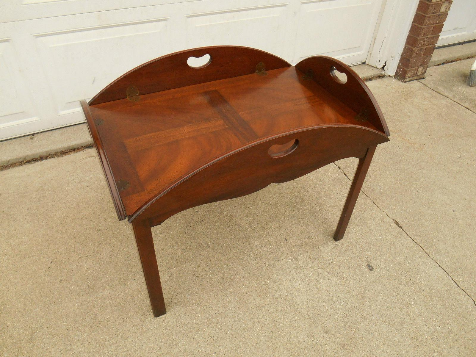 Vintage Baker Furniture Butler / Tray Table   Image 5 Of 8