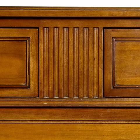 Kindel Furniture Co. Cherry Wood Tall Dresser   Image 3 Of 10