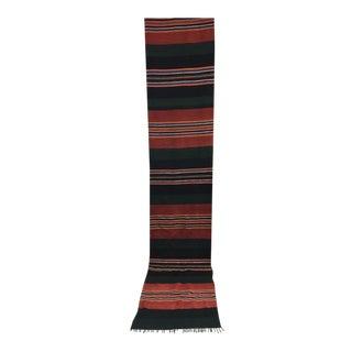 Antique Turkish Hand Woven Kilim Rug - 2′2″ × 11′6″