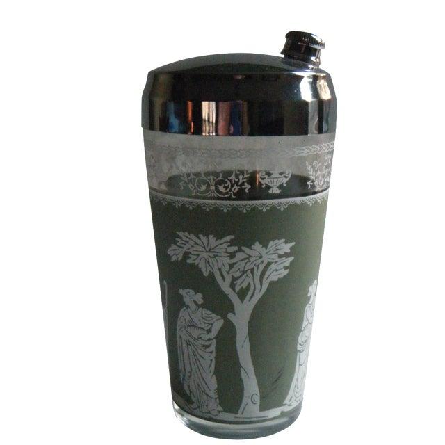 Vintage Jeanette Wedgwood Green Cocktail Shaker - Image 1 of 5