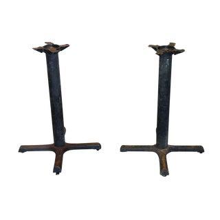 Vintage Table Legs - A Pair