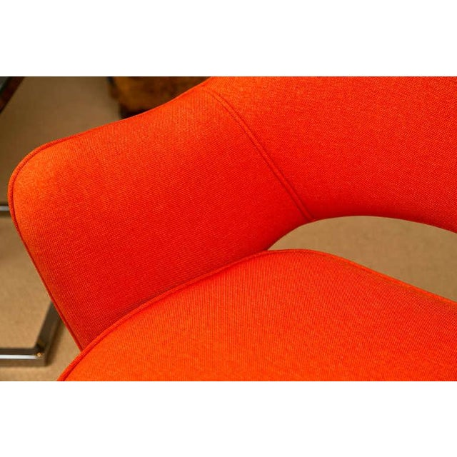 Mid-Century 1960s Set of Six Saarinen Executive Lounge Chairs - Image 7 of 8