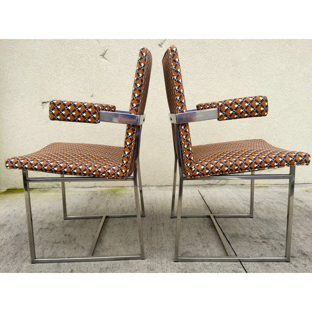 Milo Baughman ForThayer Coggin Chairs - Set of 8 - Image 10 of 11