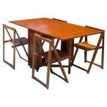 Image of Mid-Century Modern Teak Drop Leaf Dining Set