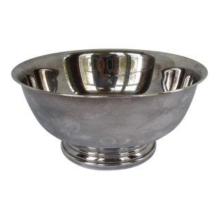Vintage Silverplate Serving Bowl