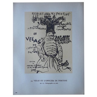 Vintage Lithograph by Pierre Bonnard