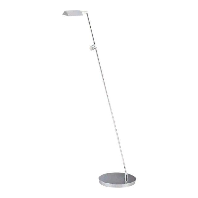 Image of Bernd Swolinski Holtkoetter Bernie Series Satin Nickel Floor Lamp