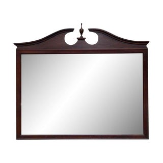 Traditional Mahogany Dresser Mirror