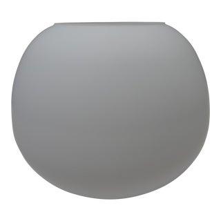Fabbian Mochi White Glass Ceiling Fixture