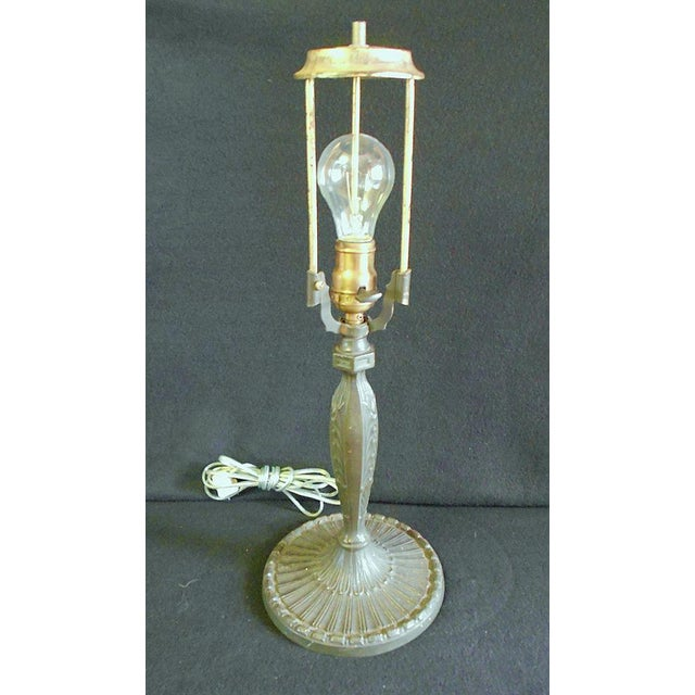 Antique Pittsburgh Lamp With Eight Panel Shade - Image 7 of 9