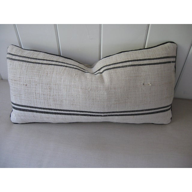 Hand Loomed Stripe Pillow - Image 2 of 4