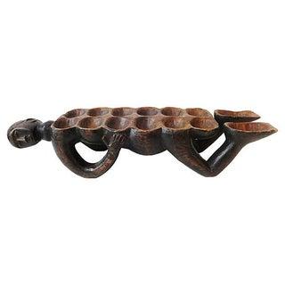 African Figural Mancala Game Board