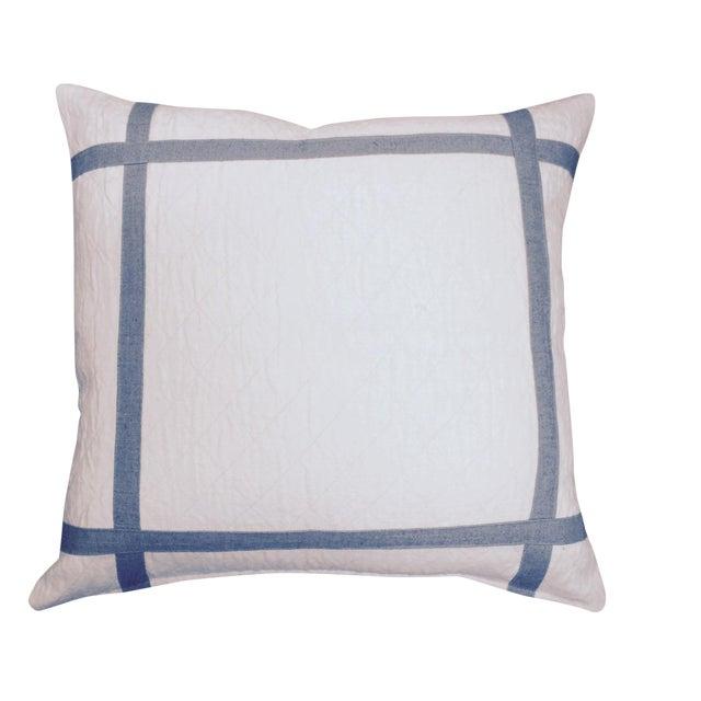 Modern Gray Pillows : Cream and Gray Modern Pillows Chairish