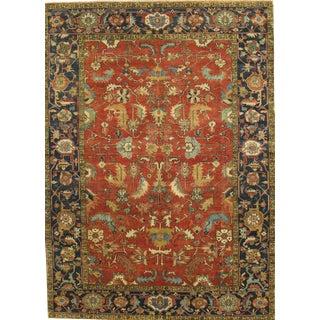 """Pasargad Serapi Lamb's Wool Area Rug- 9' 0"""" x 12' 1"""""""