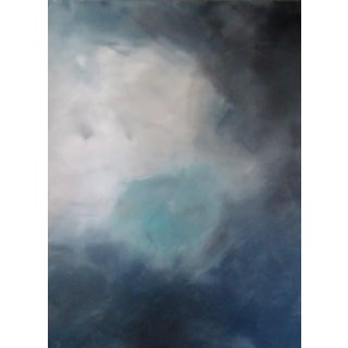 """Blue Sky""' Original Abstract Art by Kris Gould"
