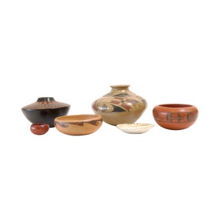 Native American Pottery Collection- Set of 6