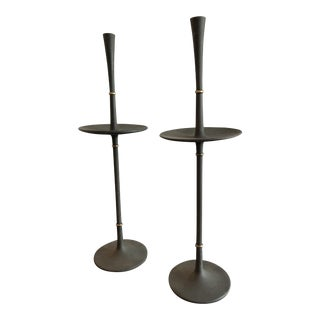 Dansk Iron Candlesticks- A Pair