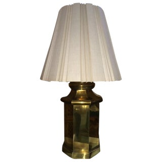 Vintage Large Brass Lamp