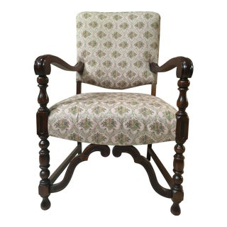 1920's-30's Queen Anne Dining Room Chair
