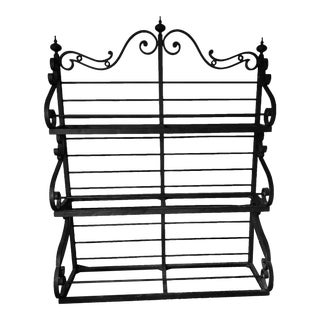 Baker Furniture Cast Iron Bakers Rack