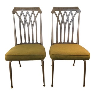 1950's Howell Mid-Century Modern Dining Chairs - A Pair