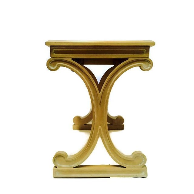 Mid-Century Regency Glam X Side Table - Image 2 of 5